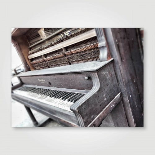 Fotopaneel Piano