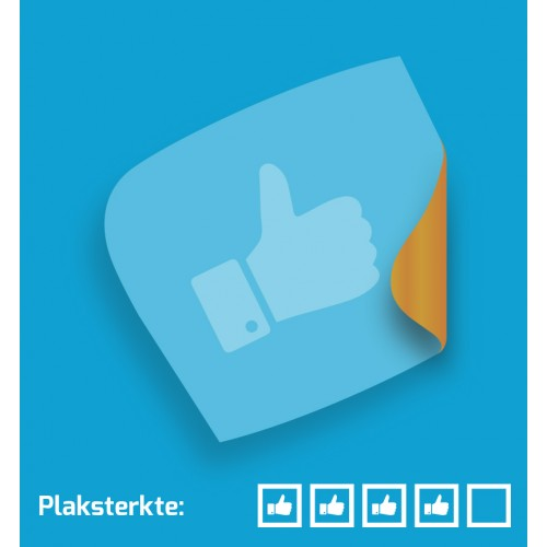 Raamsticker Permanent | Glasets